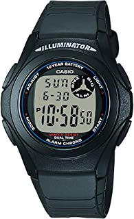 Casio Casual Watch Digital Display Quartz for Men F200W-1A