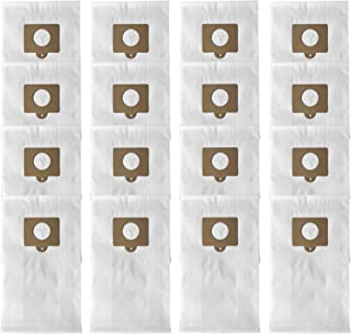 ATXKXE 16-Pack Micro Filtration Premium Canister Vacuum Bags Fit Kenmore Style C Q 5055 50557 50558 50104, Panasonic C-5 C-18, Anti-bacterial, Hypoallergenic