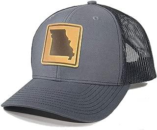 Men's Missouri Leather Patch Trucker Hat