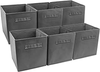 Best gray fabric storage bins Reviews