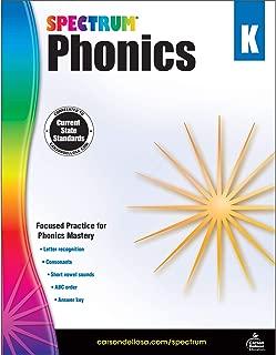 Carson-Dellosa Spectrum Phonics Workbook, Grade K