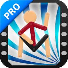 Automatic frame-tweening, make your animations smoother instantly! Add sound effects to the frames of your animations, make epic movies!* A virtual camera to move and zoom, make your animations cinematic! Gradient colors, too! Make your stickfigures ...