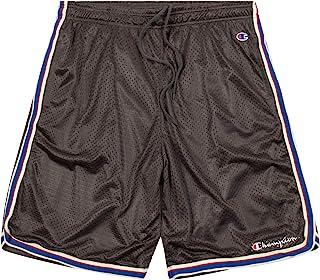 Champion Shorts, Big and Tall Shorts for Men, Classic Mesh Mens Shorts Dark Grey