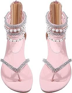 Best pink flat sandals wedding Reviews
