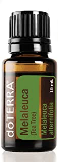 doTERRA - Melaleuca (Tea Tree) Essential Oil - Promotes Healthy Immune Function, Seasonal Protection, Cleansing and Rejuvenating Effect on Skin; for Diffusion, Internal, or Topical Use - 15 mL