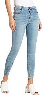 Iconic Women's 2091071 SS24STUDENM Woven Tapered Trousers, Blue