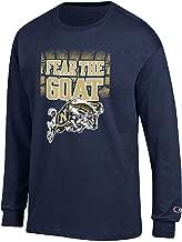 Navy Midshipmen Blue Champion Fear The Goat Long Sleeve T Shirt