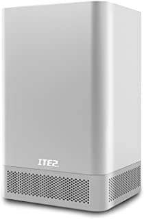 ITE2 2 Bay NAS NE-201- Network Attached Storage - Mini PC - Personal Cloud Storage - Intel Celeron 3955U Dual Core - 8GB D...