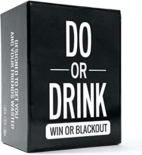 Do or Drink - Drinking Card Game for Adults - Party Card Game - Funny for Men & Women