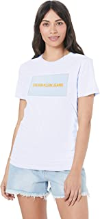 Calvin Klein Jeans Women's Institutional Box Slim Tee