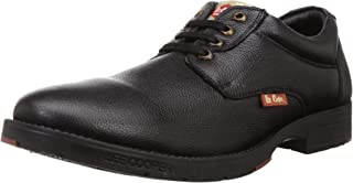Lee Cooper Men's Black Leather Formal Shoes-11 UK/India (45 EU) (LC9518BBLACK45)