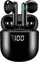 True Wireless Earbuds Bluetooth Headphones HiFi Stereo Sound Noise Cancelling Touch Control 24H Playtime with LED Display ...