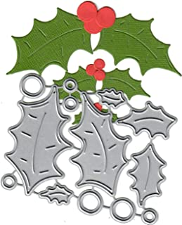 Dies to die for Metal Craft Cutting die -Holly and Berry - 3 Sizes - Holiday