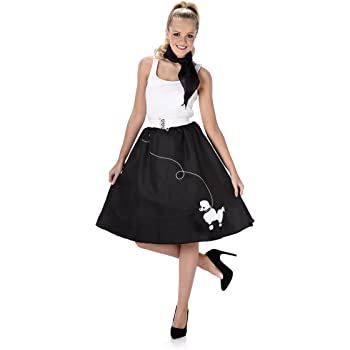 Generique - Disfraz años 50 Negro Mujer M: Amazon.es: Juguetes y ...
