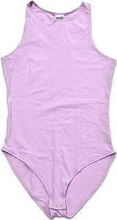 Pink One Piece High Neck Bodysuit
