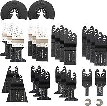 Odoukey Manual Multifuncional de aleación Dura Madera Tubo del Corte consideró el Sistema de combinación de la Hoja 28pcs Bricolaje Cuchillos Conjunto de Herramientas