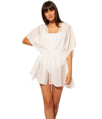 Bleu Rod Beattie India Bazaar Caftan Cover-Up (White) Women