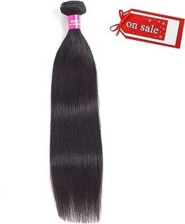 Odir 8A Brazilian Kinky Straight Human Hair Bundles 1 Bundle 20
