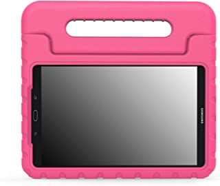 MoKo Case Fit Galaxy Tab A 10.1 2016, Kids Shock Proof Convertible Handle Lightweight Super Protective Stand Cover for Sam...