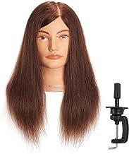 Amazon.es: cabeza maniqui peluqueria pelo natural 100