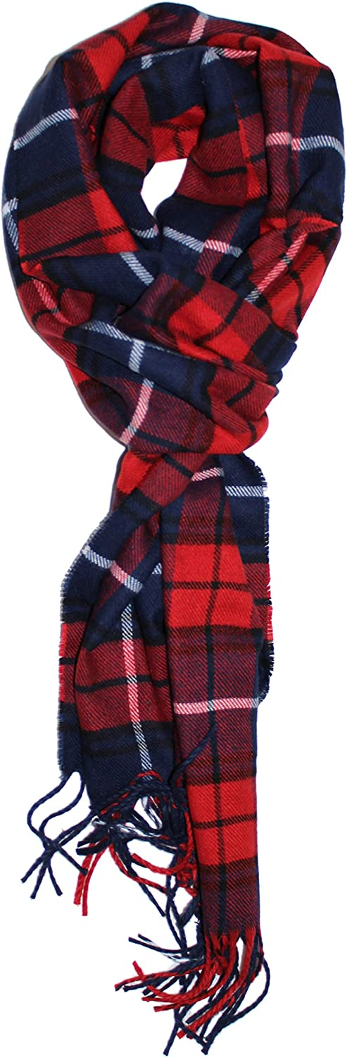 Ted & Jack - Ted's Classic Cashmere Feel Checkered or Plaid Scarf