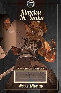 Demon Slayer Notebook: Zinetsu Writing Notebook For Manga & Anime lovers, Anime & Manga Notebooks And Journals For School,...