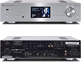 Cambridge Audio Azur 851N Network Player DAC with WiFi Streaming Audio (Silver)