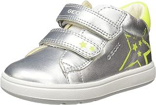 Geox B Biglia Girl C, Sneakers Basses Fille