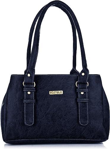 Fostelo Women's Westside Handbag (Blue) (FSB-416)