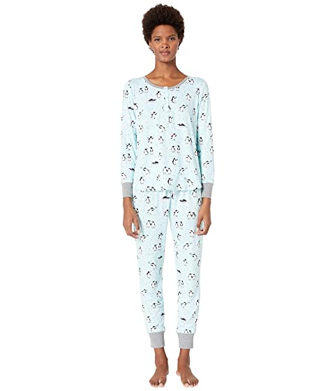 Kate Spade New York Printed Jogger Pajama Set