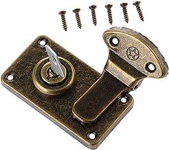 SSB-DAKOU, 1 stuk lederen koffer gesp doos vintage metalen sluiting antieke Toggle Haspe Latch sieraden gemaakt van hout d...