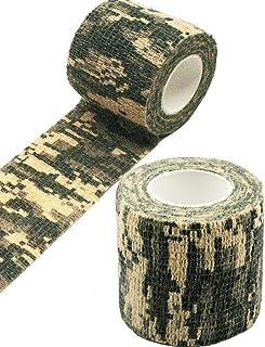 Desert Camouflage AIWEIYER Aiutao Lot de 5 Rouleaux de Ruban adh/ésif de Camouflage Militaire en Tissu Non tiss/é 4,5 m