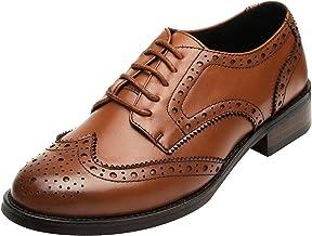 mirada detallada 33748 faacf Amazon.es: Zapatos Oxford Mujer - Marrón