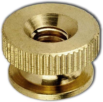 Undamaged Item a Unopened JumpingBolt Solid Brass Knurled Thumb Nuts 10-32 Qty 25 -/Unused
