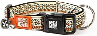 Max & Molly Ethnic Smart Id Collar  Comfortable   Odor Free Neoprene  Smart Id Tag   Lost Pet Protection Program   Extraor...