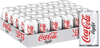 Coca-Cola Regular Carbonated Soft Drink, Can -150 ML (Pack of 30)