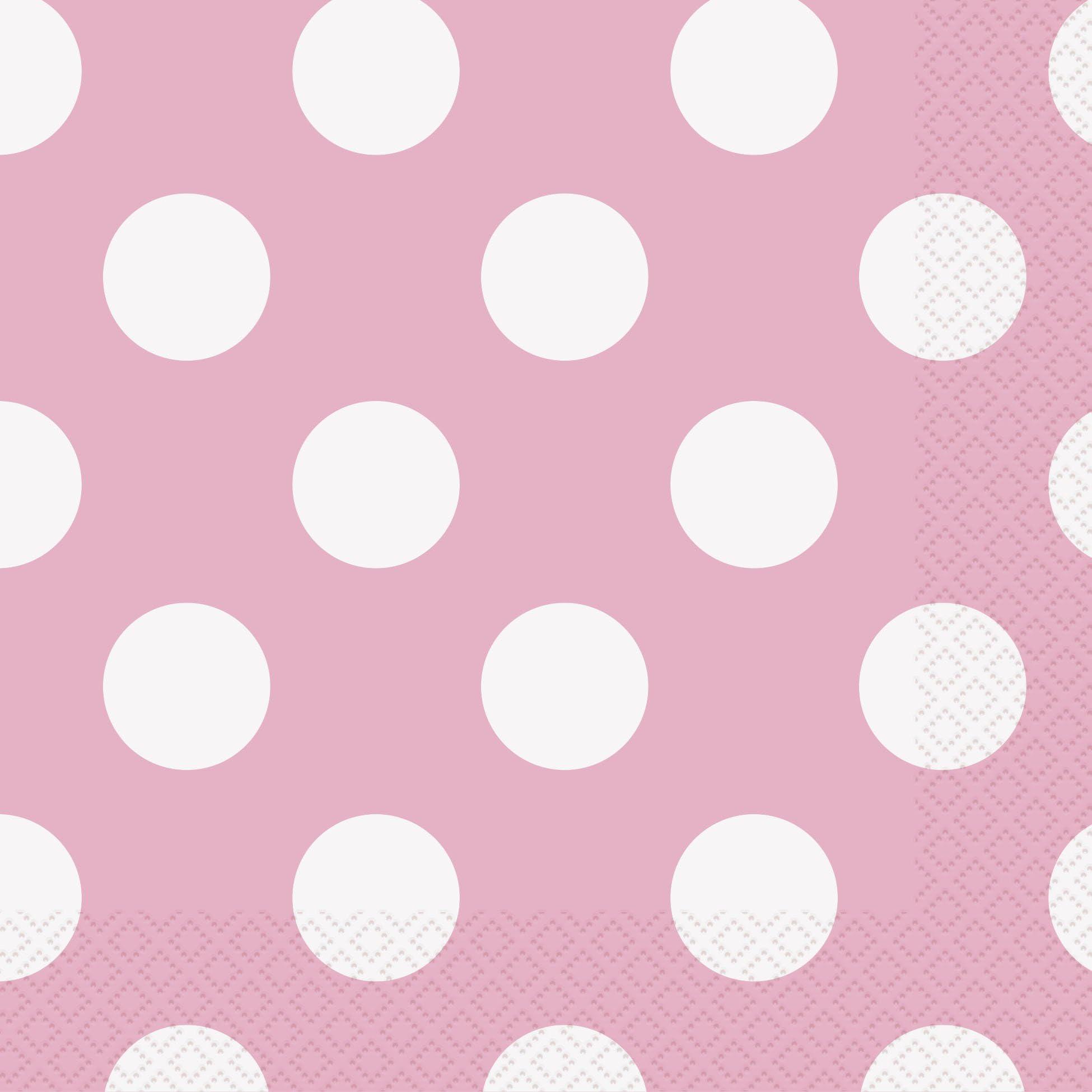 Set of 20 Colorful Polka Dot Party Napkins from Slant Collections Polka Dot Cocktail Napkins