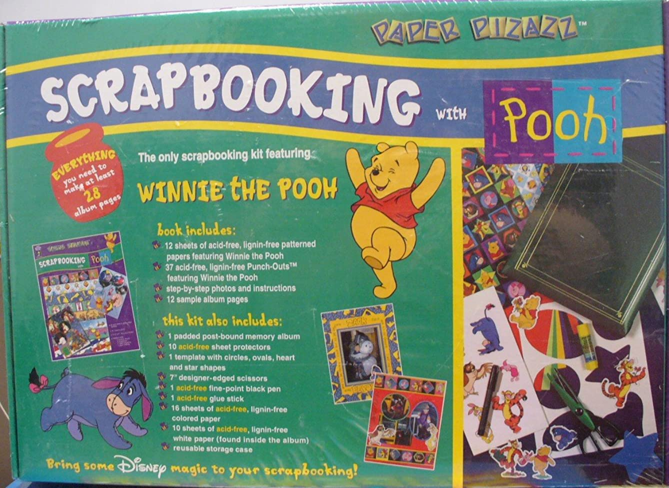 Scrapbooking with Pooh