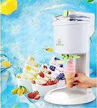 WLG - Crème glacée sur mesure - Sorbet et yaourt glacé - 1 litre - Machine à crème glacée blanche