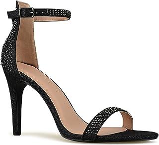 Premier Standard - Women's Strappy Kitten High Heel -...