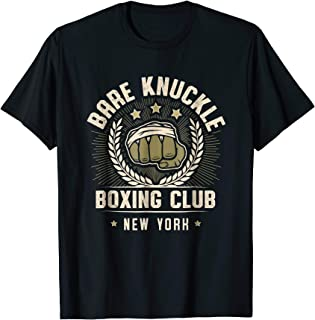 Bare Knuckle Boxing Club T-shirt for Pugilists in New York