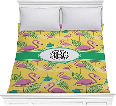 RNK Shops Pink Flamingo Comforter - Full/Queen (Personalized)