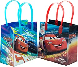 Disney Car Mcqueen Lightning 12 Premium Quality Party Favor Reusable Goodie Small Gift Bags 6