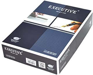 FIS Executive Laid Bond Paper, 500 Sheets, 100 gsm, White Color, A4 Size - FSPALD100WH