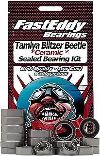 Tamiya Blitzer Beetle Chrome Metallic (58093) Ceramic Rubber Sealed Ball Bearing Kit for RC Cars