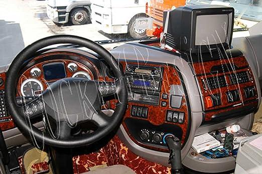 Meric Cockpit Dekor Cd Wu00115 Exclusive 3d Ausführung 13 Teile Farbe Wurzelholz Auto