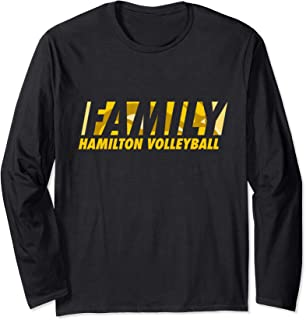 Family, Hamilton Hawkeyes Volleyball Long Sleeve T-Shirt