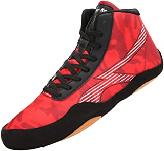 Boxing Shoes Adult Kids Fighting Trainers Indoor Fitness Sneakers Anti-Skid Lightweight for Men Women