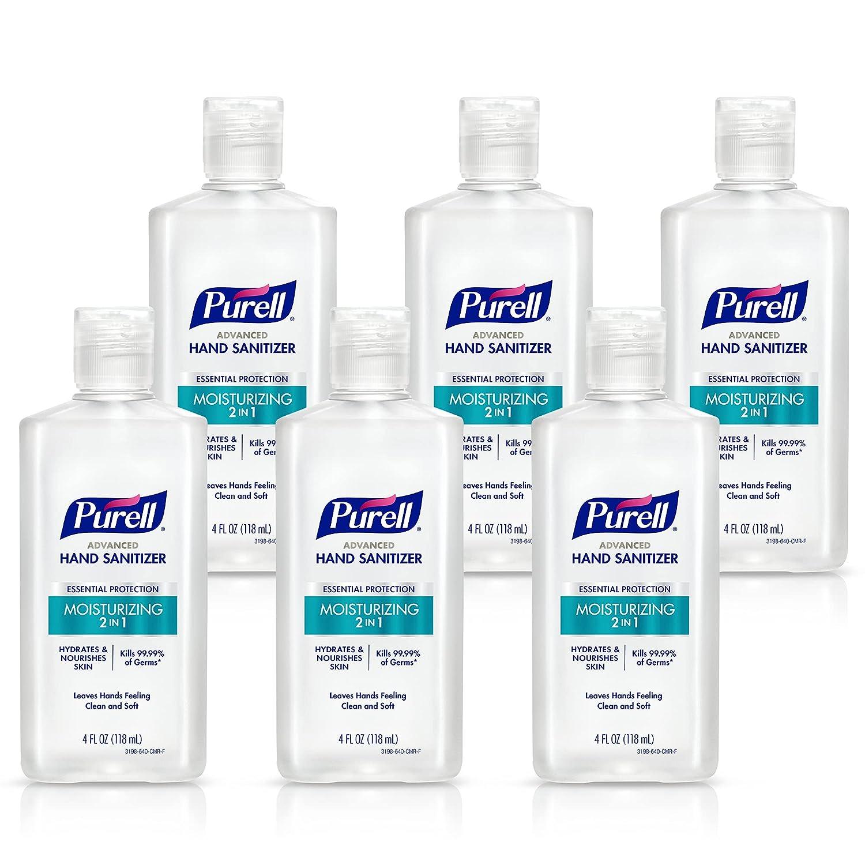 Fort Worth Mall Purell 2in1 Moisturizing Advanced Hand 4 Gel Sanitizer oz Porta Super popular specialty store