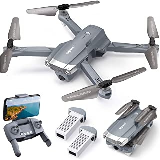 SYMA X500 4K Drone with UHD Camera for Adults, Easy GPS Quadcopter for Beginner with 56mins Flight Time, Brush Motor, 5GHz...